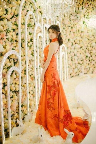 Michelle Chen in Shiatzy Chen