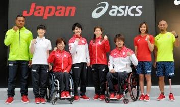 日本隊 Team Japan by Asics