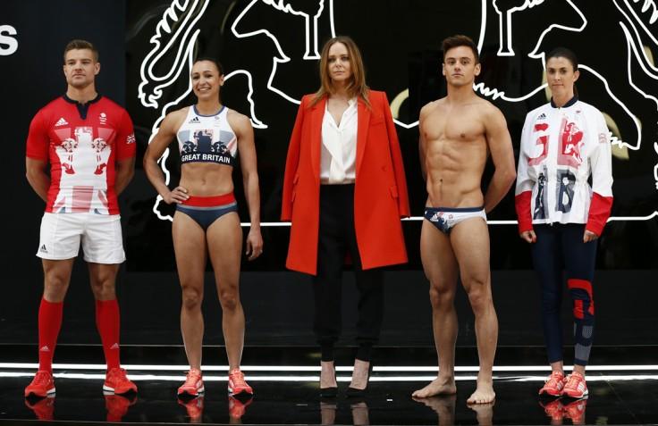 Rio Olympics Uniforms Team UK by Stella McCartney and Adidas-1