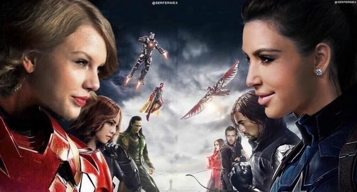 Taylor Swift vs Kim Kardashian-1