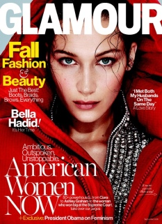 Bella Hadid Glamour September 2016 Cover
