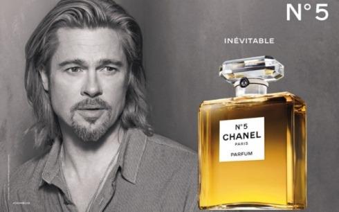 Brad Pitt for Chanel No.5 2012