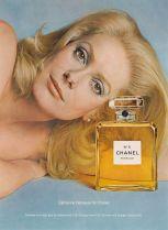 Catherine Deneuve for Chanel No.5 1975