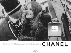 Cheryl Tiegs for Chanel No.5 1969