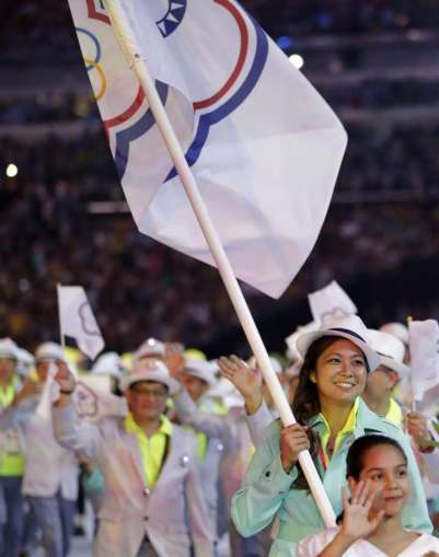 Chinese Taipei 2016 Rio Olympics Opening-1