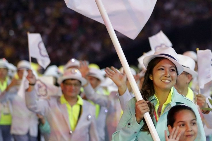 Chinese Taipei 2016 Rio Olympics Opening-4
