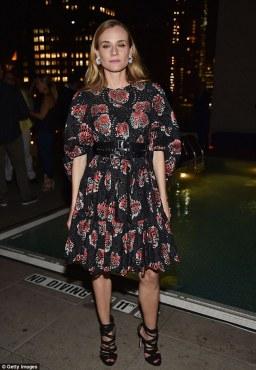 Diane Kruger in Alexander McQueen Resort 2017-1
