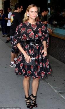 Diane Kruger in Alexander McQueen Resort 2017-2