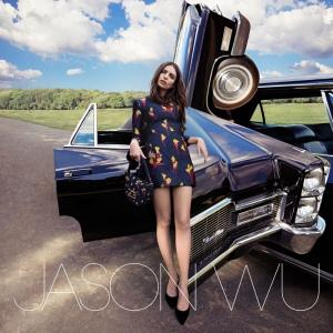 Emily Ratajkowski X Jason Wu Fall 2016 Campaign -2016.8.17-