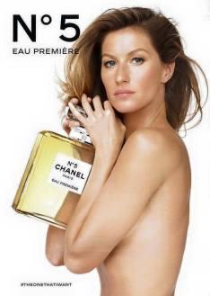 Gisele Bundchen for Chanel No.5 2015