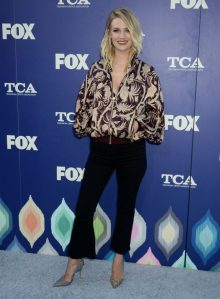 2016 FOX TCA Summer Party— January Jones -2016.8.10-