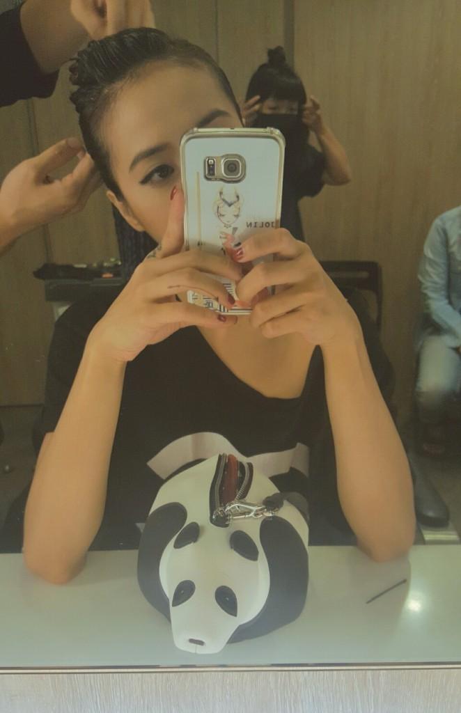Jolin Tsai Loewe Panda Bag