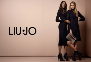 Karlie Kloss & Jourdan Dunn X Liu Jo Fall 2016 Campaign -2016.7.28-