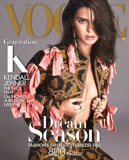 Kendall Jenner Vogue US September 2016 Cover