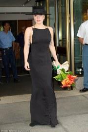 Lady Gaga in Carolina Herrera