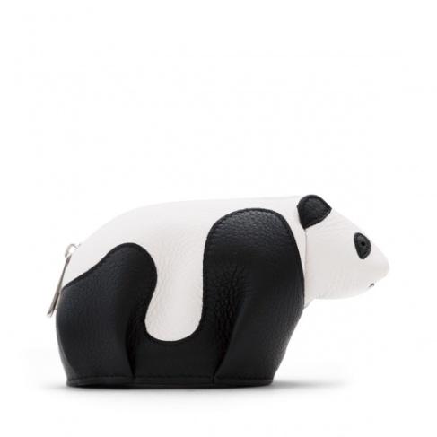 Loewe Panda Coin Purse Black-white-1