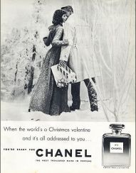 Millie Perkins for Chanel No.5 1956