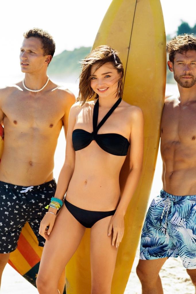 Miranda Kerr BONDS Swimsuit 2016 Campaign