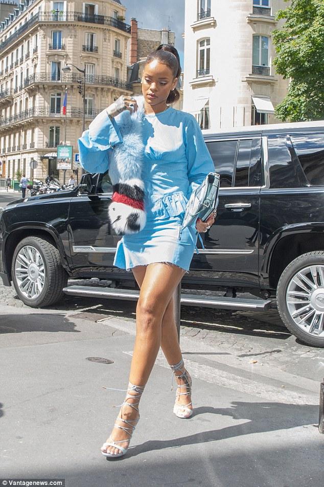 Rihanna in Marques ' Almeida Fall 2016