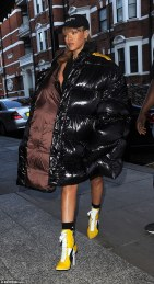 Rihanna in Raf Simons Fall 2016 Menswear-1