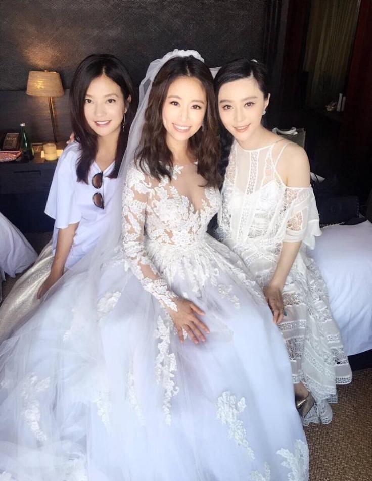Ruby Lin in Zuhair Murad Bridal Fall 2016