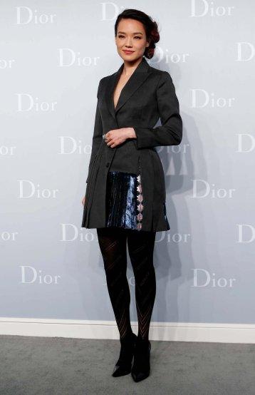 Shu Qi in Christian Dior Spring 2013