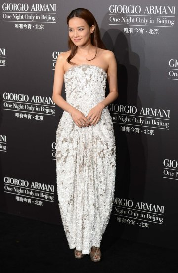 Shu Qi in Giorgio Armani Spring 2012