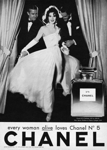 Suzy Parker for Chanel No.5 1937