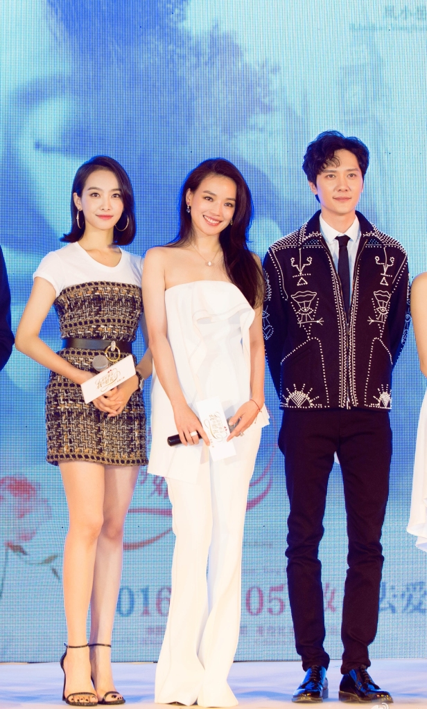 Victoria Song in Chanel Pre-Fall 2016 & Shu Qi in Comme Moi Fall 2016
