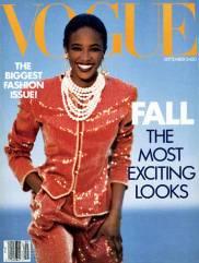 Vogue US September 1989 Cover Naomi Campbell