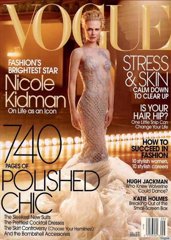Vogue US September 2003 Cover Nicole Kidman