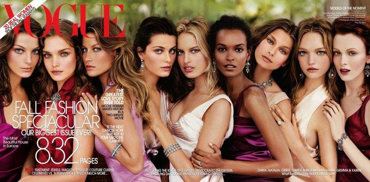Vogue US September 2004 Cover