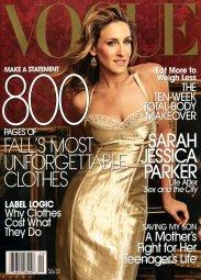 Vogue US September 2005 Cover Sarah Jessica Parker