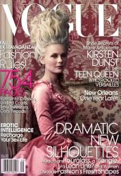 Vogue US September 2006 Cover Kirsten Dunst