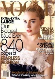 Vogue US September 2007 Cover Sienna Miller