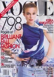 Vogue US September 2008 Cover Keira Knightley