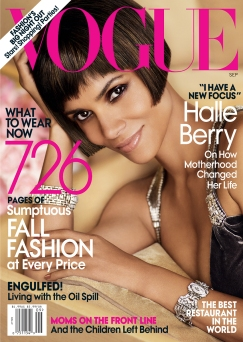 Vogue US September 2010 Cover Halle Berry