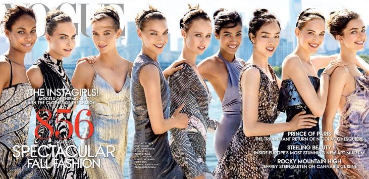 Vogue US September 2014 Cover