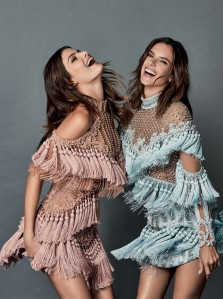 Alessandra Ambrosio & Isabeli Fontana X Brazil Vogue October 2016 -2016.9.30-