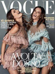 Alessandra Ambrosio & Isabeli Fontana X Vogue Brazil October 2016 Cover -2016.9.28-
