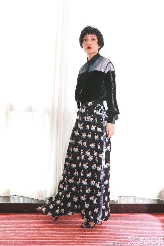 Amber Kuo in Stella McCartney Fall 2016