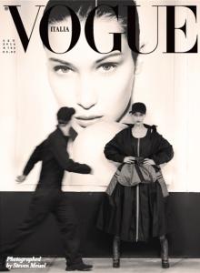 Bella Hadid X Vogue Italia September 2016 Cover -2016.9.2-