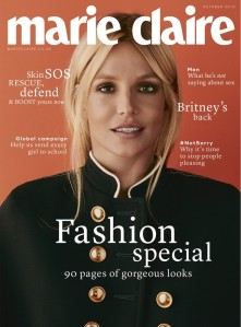 Britney Spears X Marie Claire UK October 2016 Cover -2016.9.1-