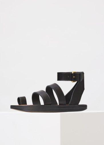 celine-hiker-flat-ankles-strap-sandal-with-toe-ring
