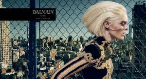 Coco Rocha X Balmain Hair Couture Fall 2016 Campaign -2016.9.27-