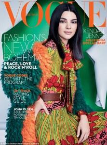Kendall Jenner X Vogue Australia October 2016 Cover -2016.9.6-