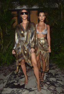 Balmain Spring 2017 Party— Kim Kardashian -2016.9.30-