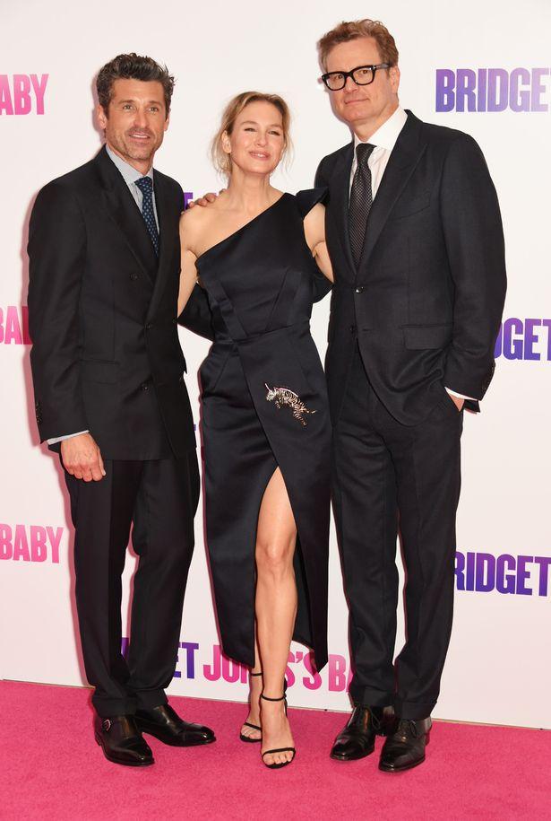 Patrick Dempsey & Renee Zellweger & Colin Firth
