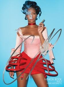 Rihanna X CR Fashion Book Issue 9 -2016.9.17-
