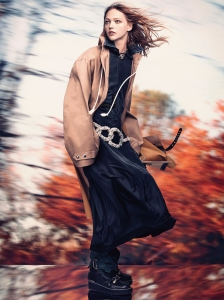 Sasha Pivovarova X Vogue UK October 2016 -2016.9.18-